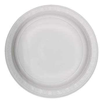 """Product Large White Disposable Plates 230mm (9"""") Carton of 500 1 Werko"""