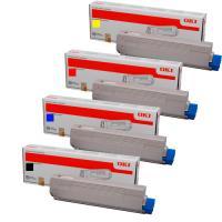 Product Genuine Oki C710 C711 Value Pack Toner Cartridges 1 Werko
