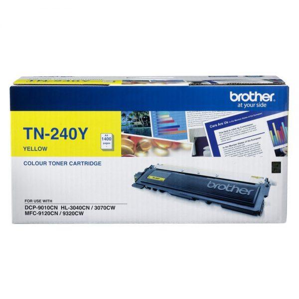 Product Genuine Brother TN-240Y Yellow Toner 1 Werko