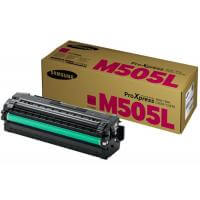 Genuine Samsung CLT-M505L Magenta Toner Cartridge