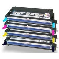 Compatible Fuji Xerox Docuprint C2100 C3210 Toner Value Pack High Yield