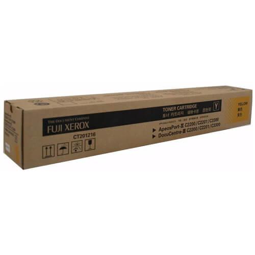Genuine Fuji Xerox CT201216 Yellow Toner Cartridge