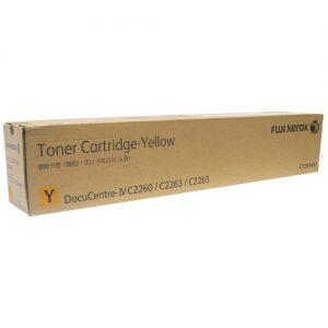 Genuine Fuji Xerox CT201437 Yellow Toner Cartridge