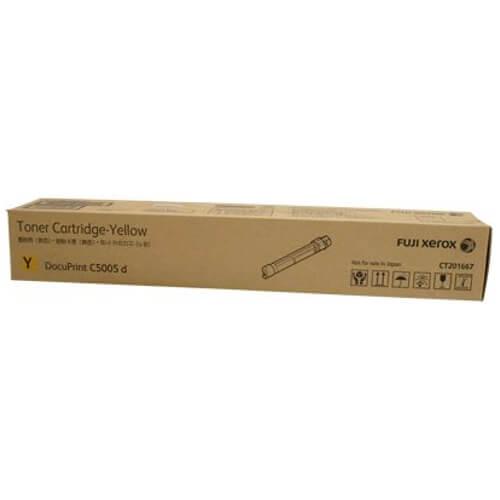 Genuine Fuji Xerox CT201667 Yellow Toner