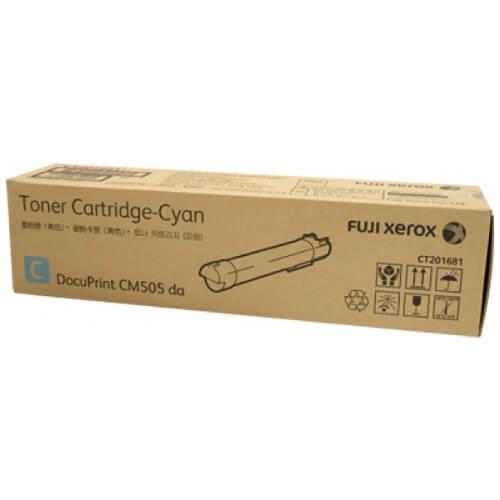 Genuine Fuji Xerox CT201681 Cyan Toner