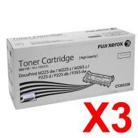 Genuine Fuji Xerox CT202330 Black Toner Cartridge High Yield
