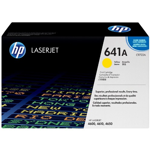 Product Genuine HP 641A Yellow Toner Cartridge C9722A 1 Werko