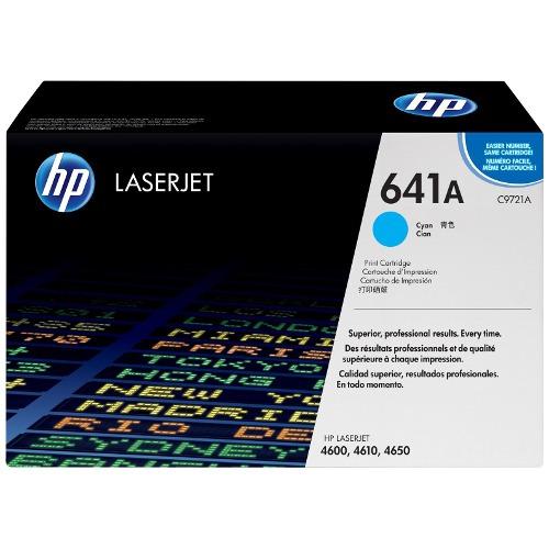 Product Genuine HP 641A Cyan Toner Cartridge C9721A 1 Werko