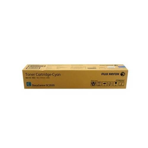 Genuine Fuji Xerox CT202247 Cyan Toner