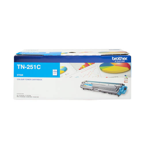 Product Genuine Brother TN-251C Cyan Toner 1 Werko