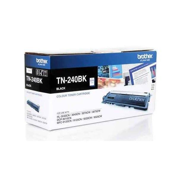 Product Genuine Brother TN-240BK Black Toner 1 Werko