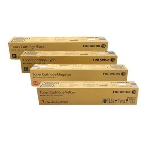 Genuine Fuji Xerox Docucentre SC2020 Toner Value Pack
