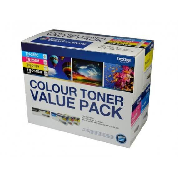Product Genuine Brother TN-255 Toner Value Pack High Yield 1 Werko