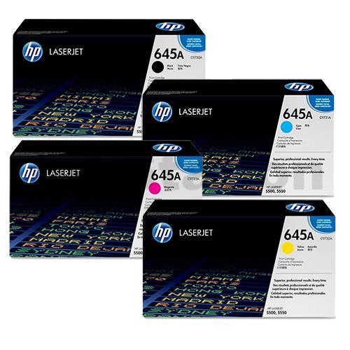 Product Genuine HP 645A Toner Cartridge Value Pack 1 Werko