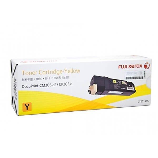 Genuine Fuji Xerox CT201635 Yellow Toner