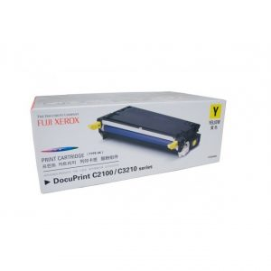 Genuine Fuji Xerox CT350484 Yellow Toner Cartridge