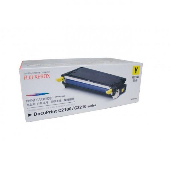 Genuine Fuji Xerox CT350484 Yellow Toner Cartridge