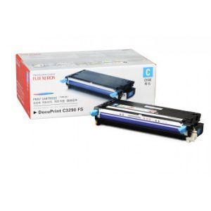 Genuine Fuji Xerox CT350568 Cyan Toner Cartridge