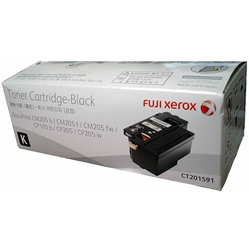Genuine Fuji Xerox CT201591 Black Toner