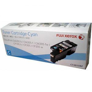Genuine Fuji Xerox CT201592 Cyan Toner