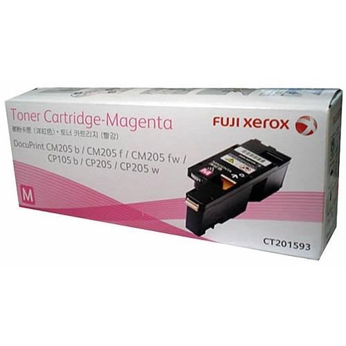 Genuine Fuji Xerox CT201593 Magenta Toner