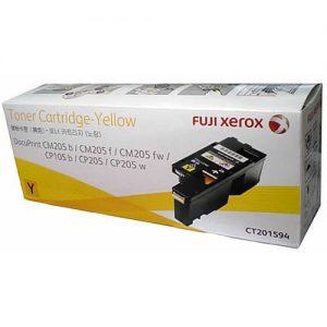 Genuine Fuji Xerox CT201594 Yellow Toner