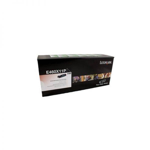 Genuine Lexmark E460X11P Black Toner Cartridge Extra High Yield