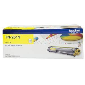 Product Genuine Brother TN-251Y Yellow Toner 1 Werko
