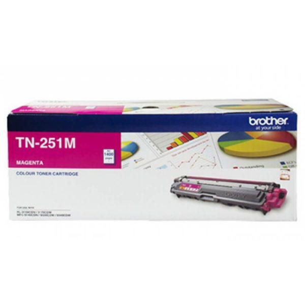 Product Genuine Brother TN-251M Magenta Toner 1 Werko
