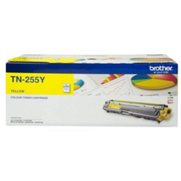 Product Genuine Brother TN-255Y Yellow Toner 1 Werko