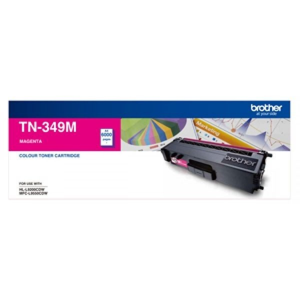 Product Genuine Brother TN-349M Magenta Toner 1 Werko