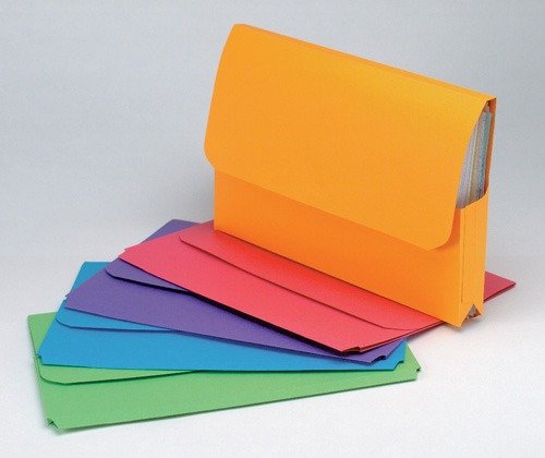 Product Marbig Foolscap Document Wallet Slimpick Bright Green 10 Pack 1 Werko
