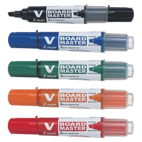 Product Pilot BeGreen V Board Master Med Whiteboard Marker Assorted 5 Pack 1 Werko