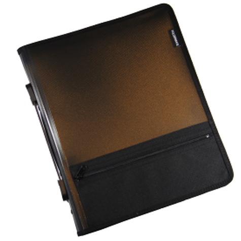 Product FolderMate Zipper Binder 860S A4 2R 25mm Smoke 1 Werko