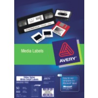 Product LABEL AVERY INKJET J8674 VIDEO SPINE 16L 145X17MM 50'S 1 Werko