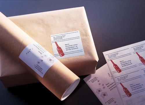 Product LABEL AVERY INKJET J8165R PARCEL 8UP 936024 PK25 1 Werko
