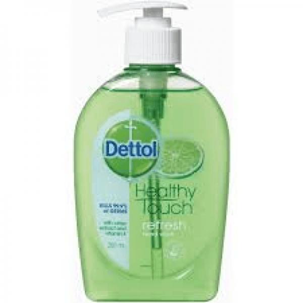 Product Hand Wash Dettol Fresh 250ml Pump Pack 1 Werko