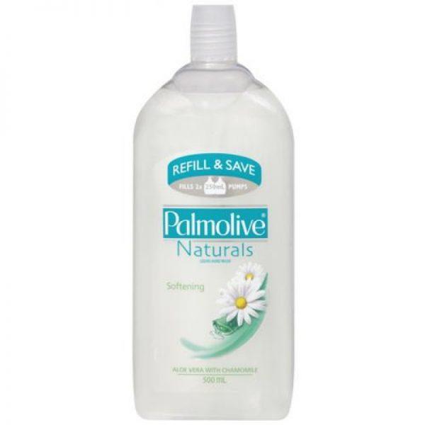 Product Hand Wash Palmolive Soft Wash Aloe Vera Refill 500ml 1 Werko