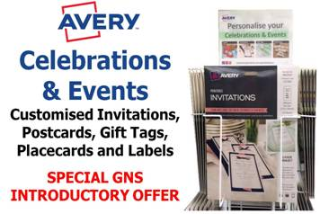 Product CELEBRATIONS AND EVENTS AVERY DEAL INCL STAND AND BONUS STOCK 1 Werko