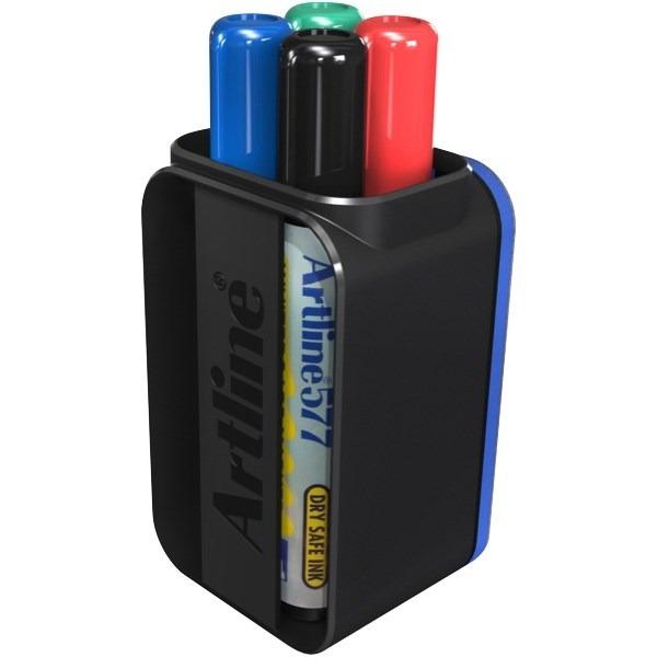 Product Artline 577 Whiteboard Marker and Eraser Cup Set 4 Pack 1 Werko