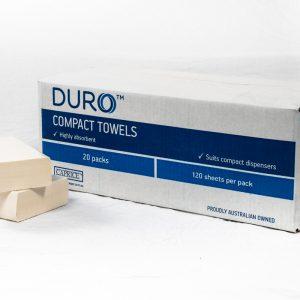 Duro Compact Interleaved Towel 29cm x 19cm