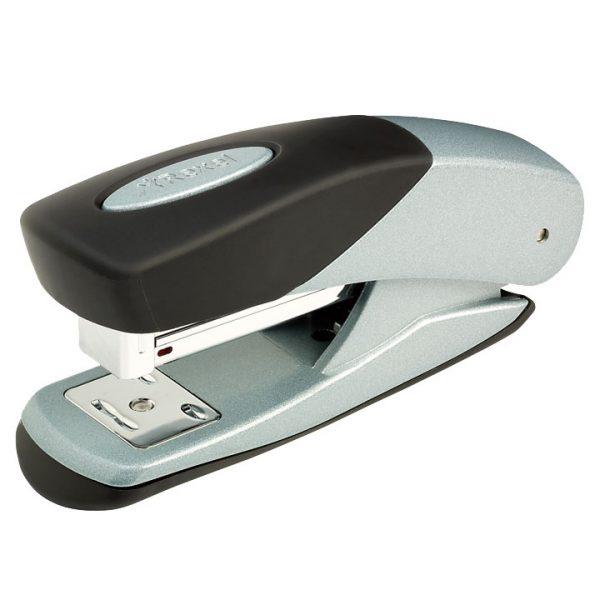Product Rexel Matador Pro Half Strip Stapler Silver And Black 1 Werko