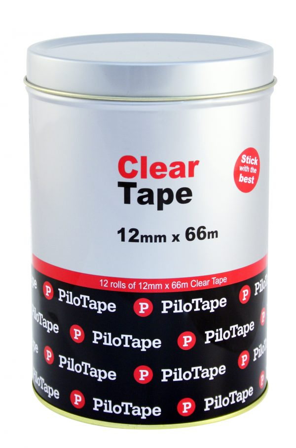 Product TAPE CLEAR PILOTAPE 12MMX66M TIN12 1 Werko