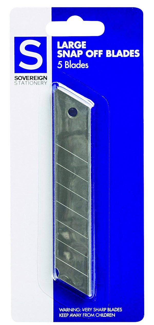 Product BLADES SOVEREIGN SNAP LGE PK5 1 Werko