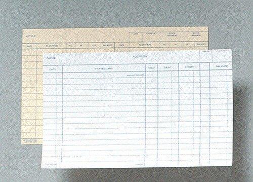 Product ZIONS SYSTEM CARDS 58RW 8X5 WHITE 3MC PK100 1 Werko