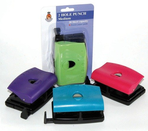 Product PUNCH SOVEREIGN  FASHION 2 HOLE MEDIUM ASST COLOURS 1 Werko
