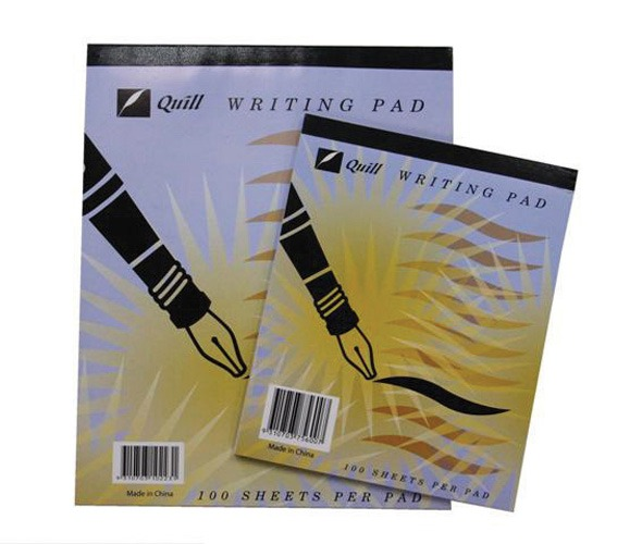 Product WRITING PAD QUILL 10X8 BANK 70LF PWL70 1 Werko