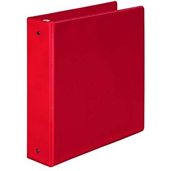 Product Bantex Economy Binder A5 2R 25mm Red 1 Werko
