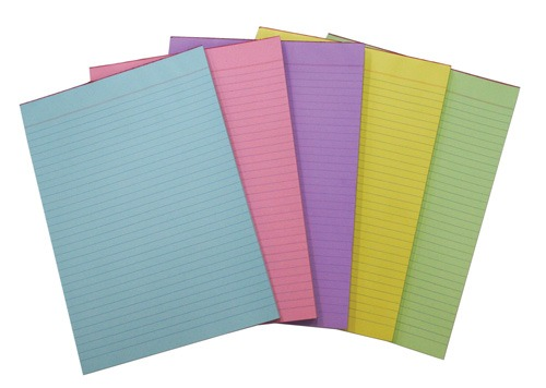 Product OFFICE PADS QUILL A4 BOND RULED LILAC 70GSM 70LF 1 Werko
