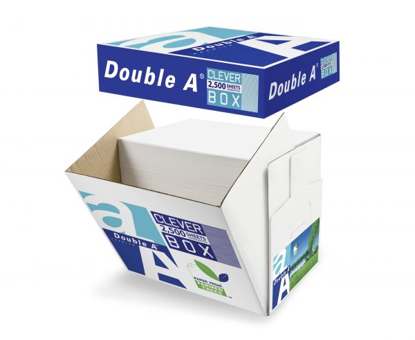 Product Double A Copy Paper A4 80gsm White Cleverbox 2500 Sheets 1 Werko